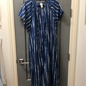 H&M Blue & White Striped Tunic
